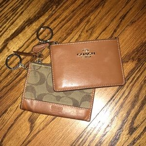 Bundle of coach keychains